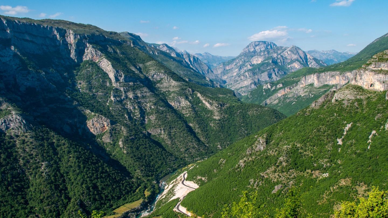 Vermosh Tal, Albanien