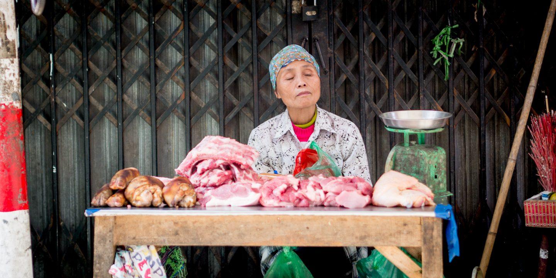 Fleischereifachverkäuferin