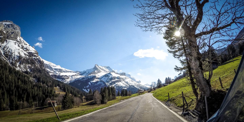 Auf dem Weg zum Col de Pilion.